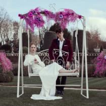 French-antique-wedding